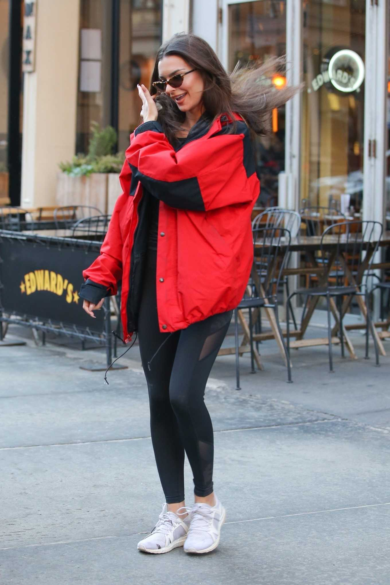 Emily Ratajkowski Heads to the Strong By Zumba Event in New York