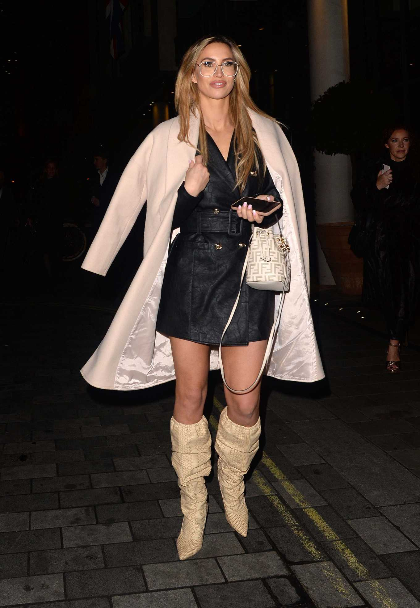 Ferne McCann Press Night for Pretty Woman at the Piccadilly Theatre in London