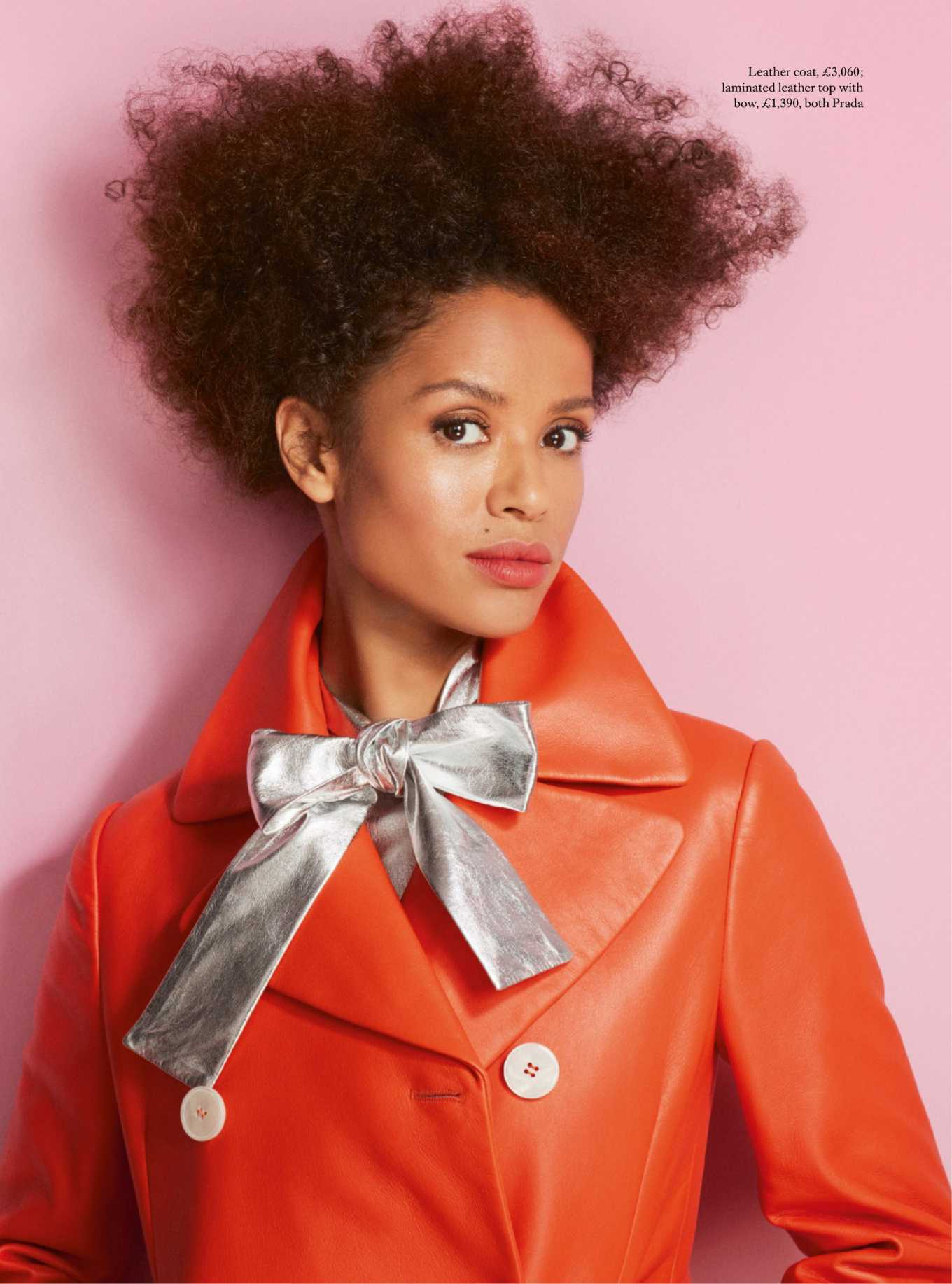 Gugu Mbatha-Raw Photoshoot for Harper's Bazaar UK Magazine (April 2020)