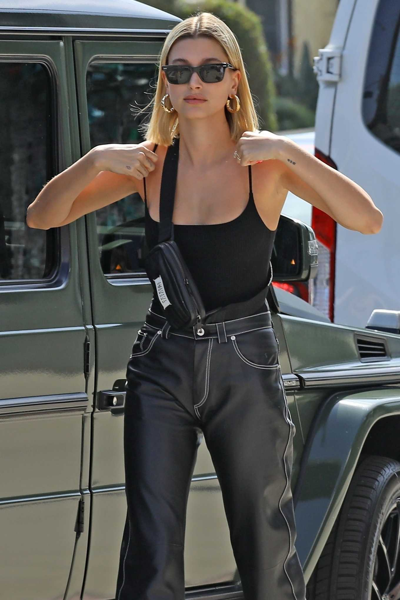 Hailey Bieber Pics While Shopping in West Hollywood