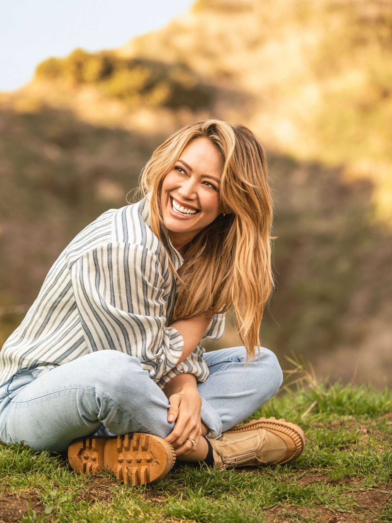Hilary Duff by Silja Magg for Parents Magazine (April 2020)