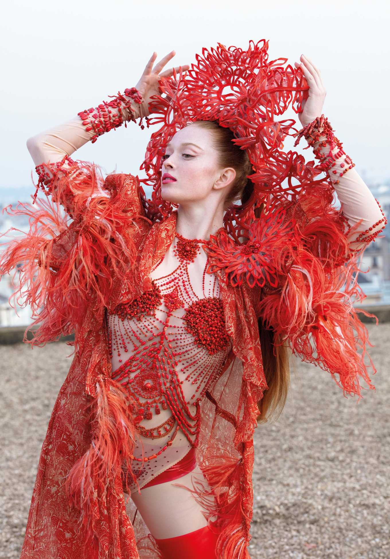 Larsen Thompson Photoshoot for L'Officiel Italy Magazine (March 2020)