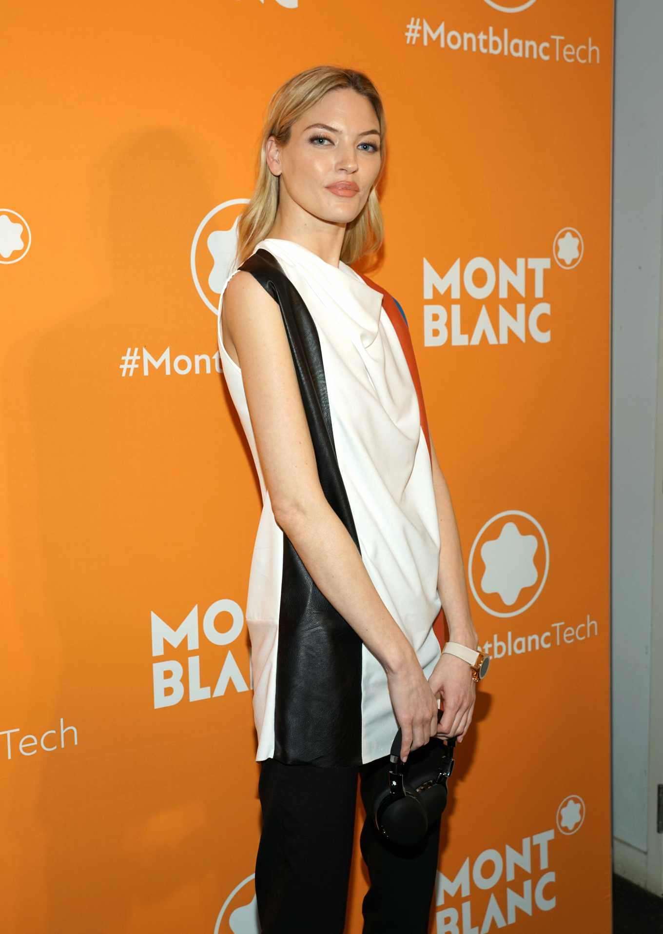 Martha Hunt At Montblanc MB 01 Smart Headphones & Summit 2+ Launch Party in NYC
