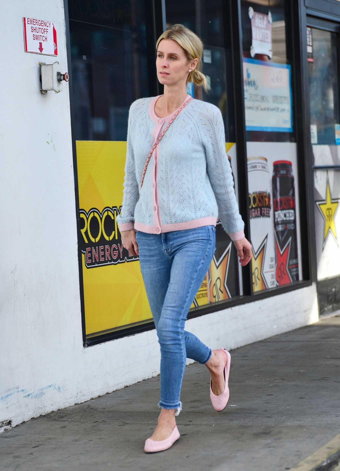 Nicky Hilton Leaving a gas station in Beverly Hills