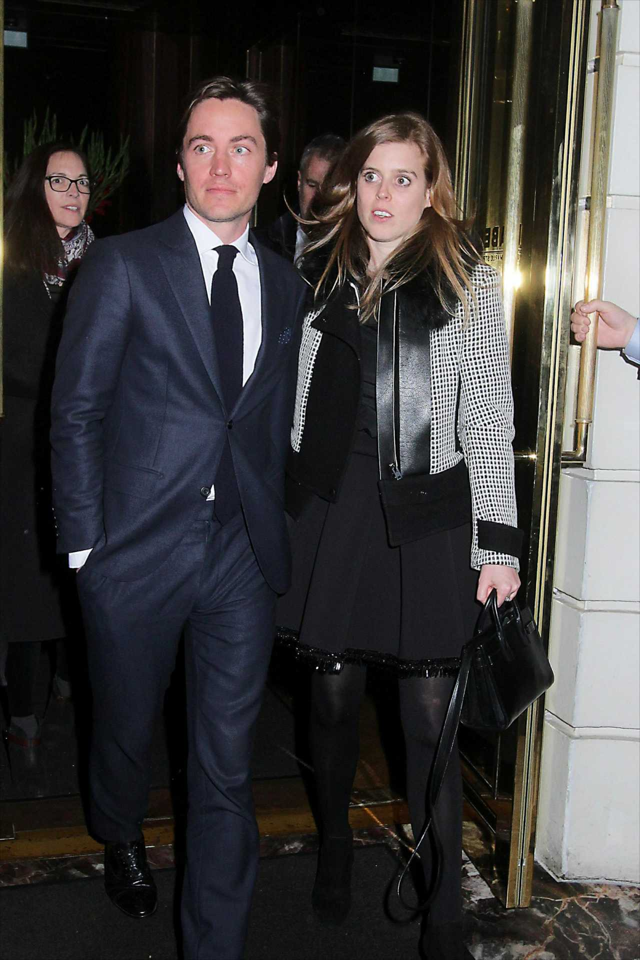 Princess Beatrice of York At Isabel restaurant in Mayfair in London
