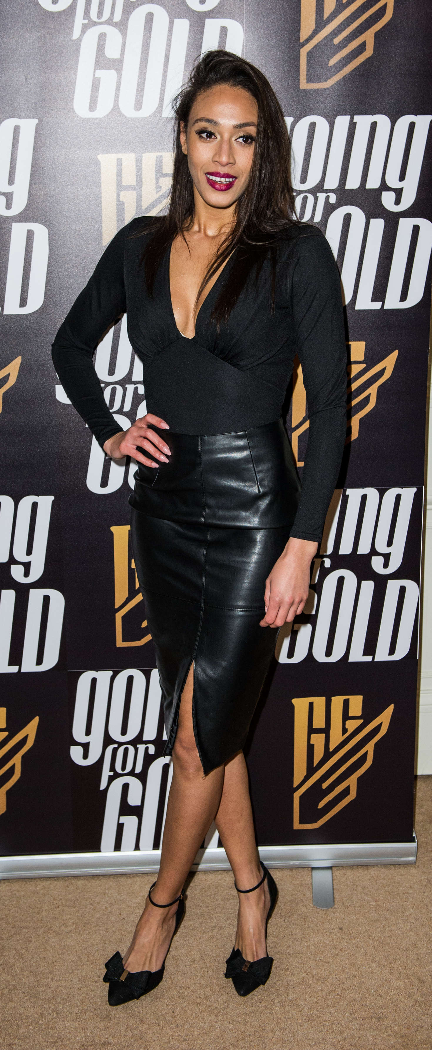 Rachel Christie – Going For Gold Magazine Launch Party in London_01
