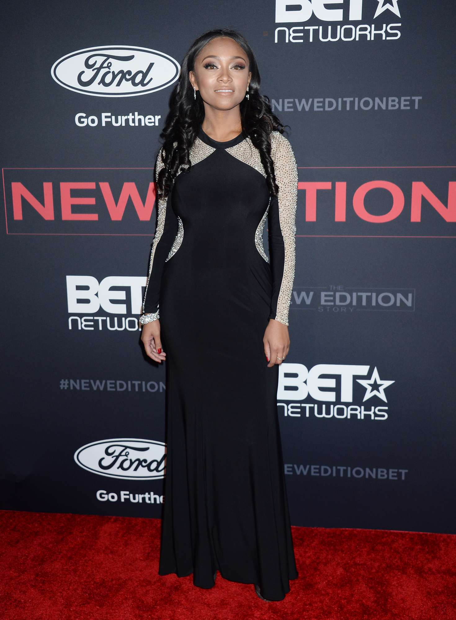 Rachel Currence – 'The New Edition Story' Premiere in Los Angeles