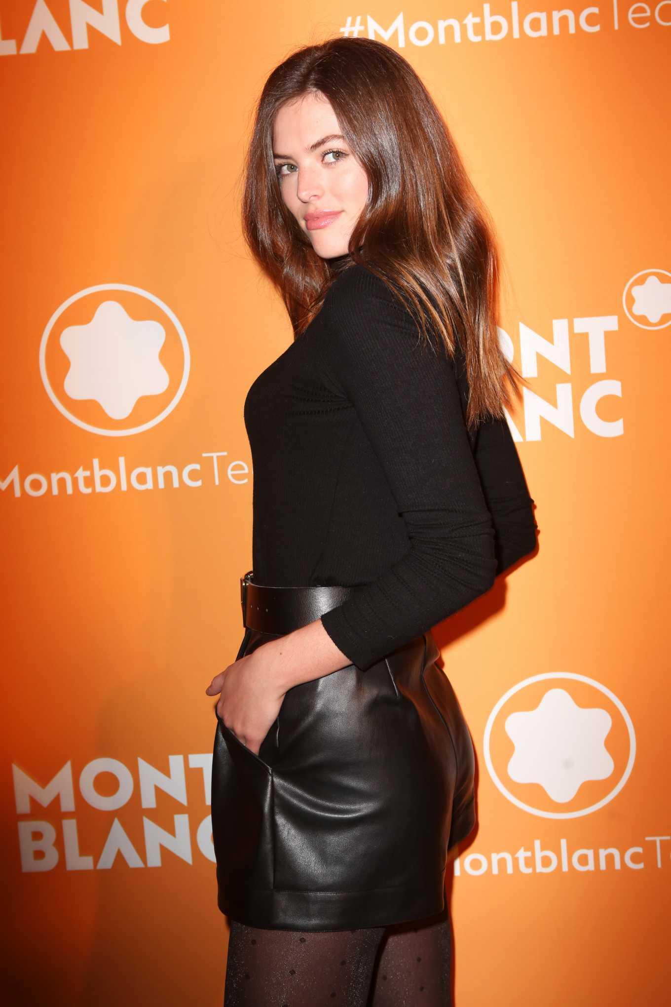 Sofie Rovenstine At Montblanc MB 01 Smart Headphones & Summit 2+ Launch Party in NYC