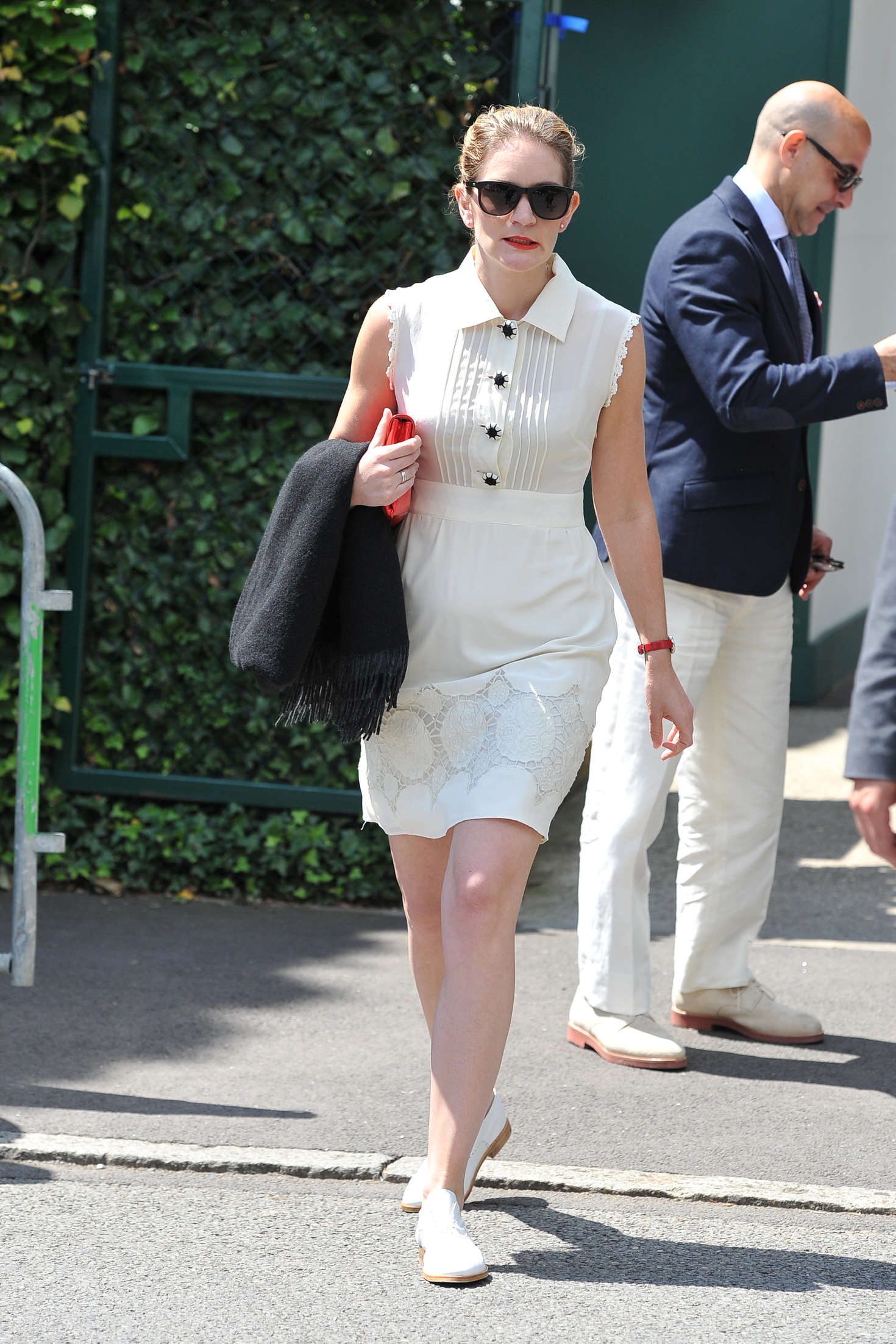 Felicity Blunt – Arriving at 2016 Wimbledon Championships in London-02