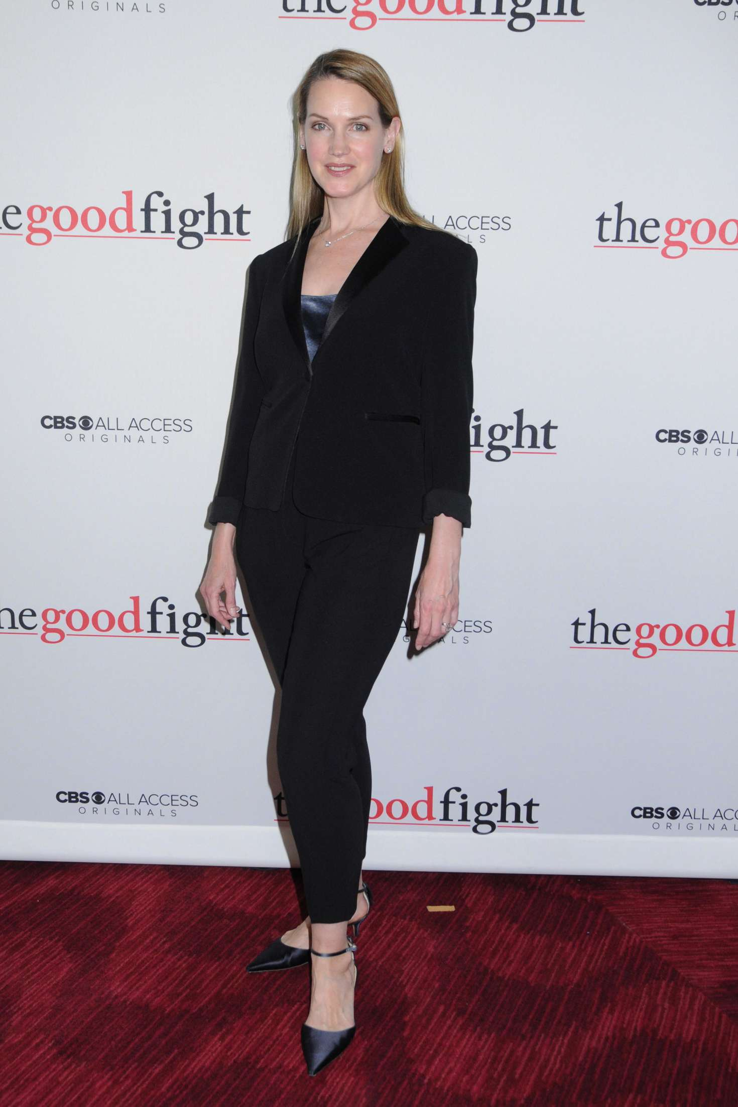 Francie Swift – 'The Good Fight' Premiere in New York City-02