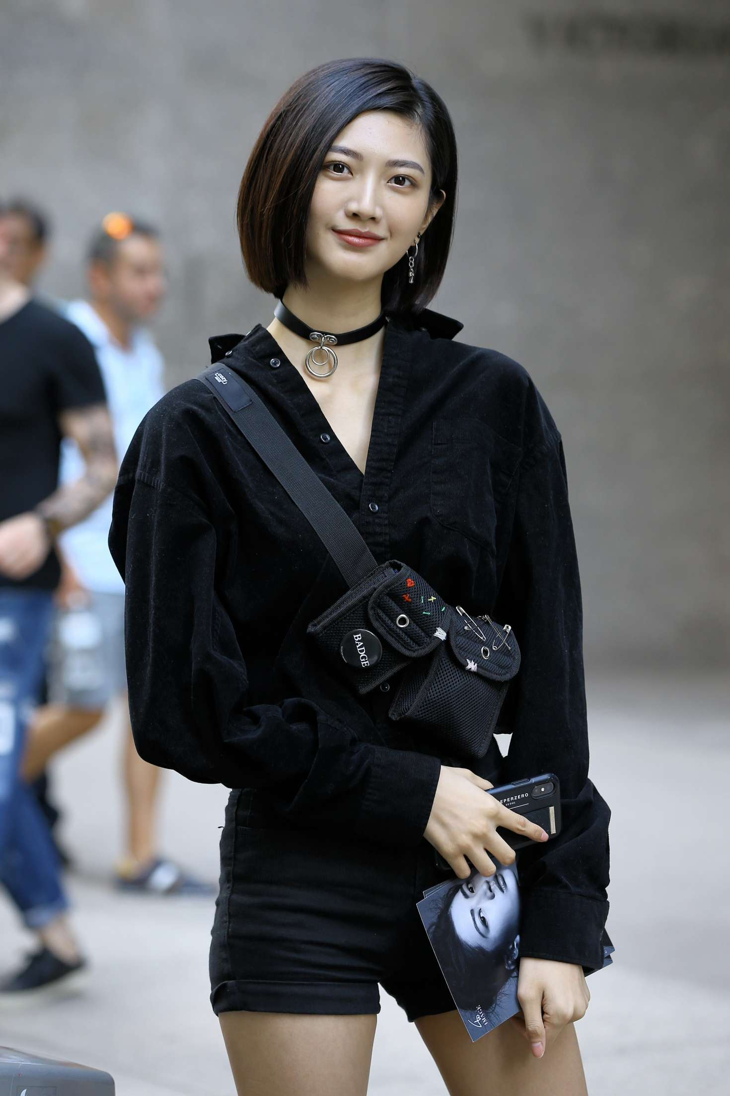 I-Hua Wu at Casting Call for the Victoria's Secret Fashion Show 2018 in NY-01
