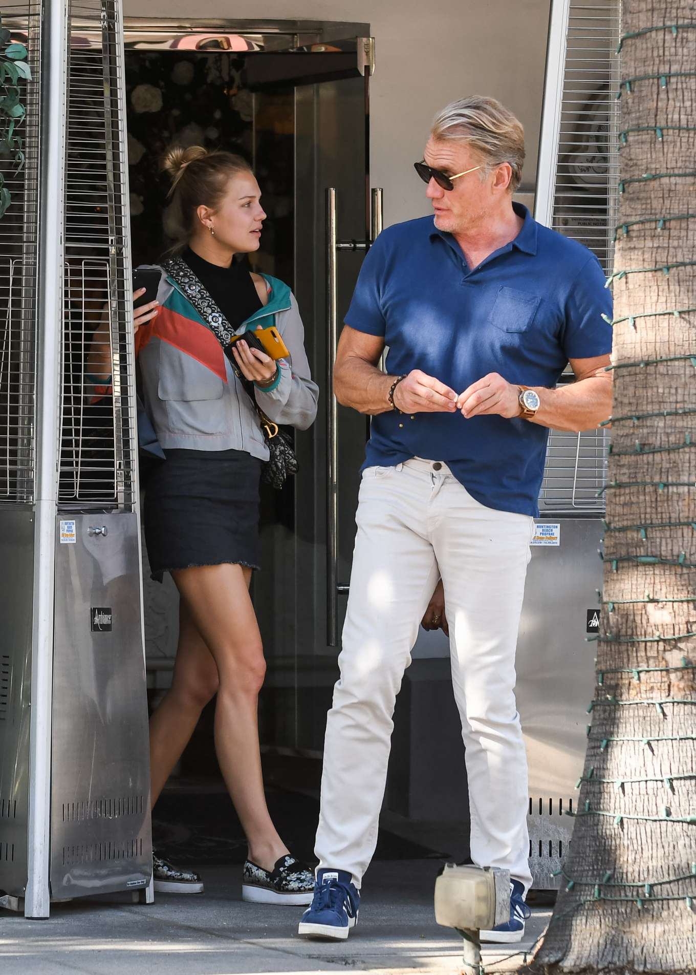 Ida and Dolph Lundgren – Out in Los Angeles-02