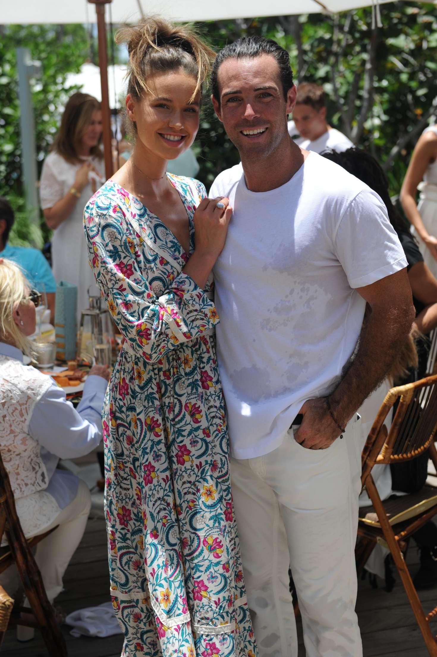 Iggy Van Dinther – Fashion Fair Host Sports Illustrated Brunch in Miami-01