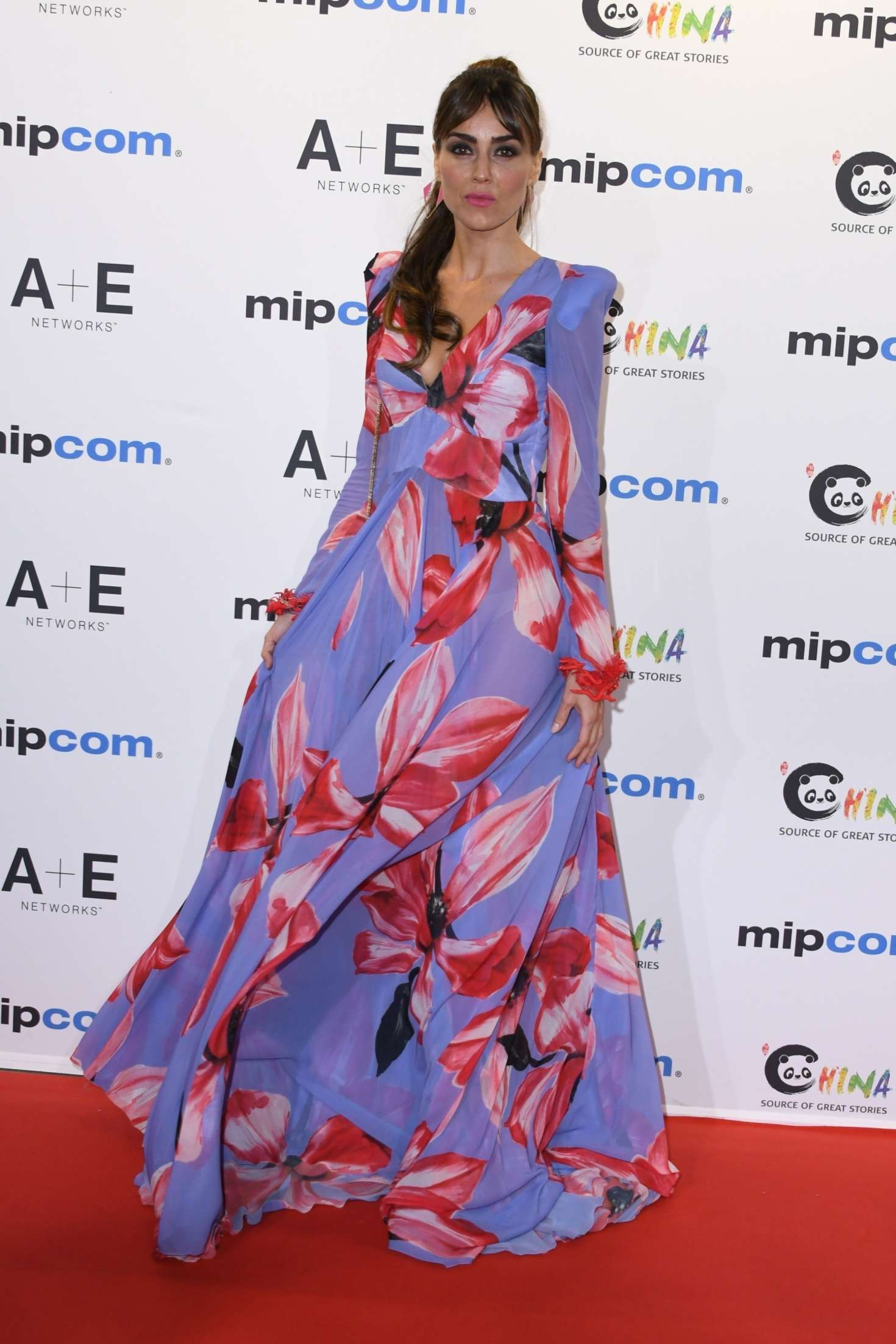 Irene Arcos – Mipcom 2018 Opening Red Carpet in Cannes-03