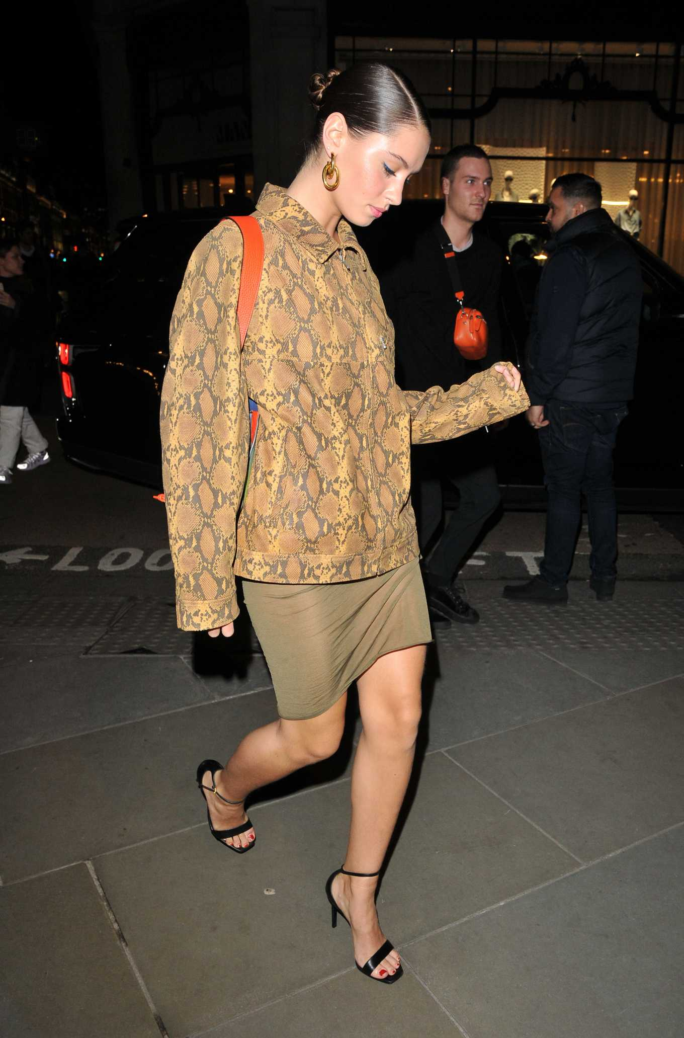 Iris Law – Arrives at Mulberry Party in London-09