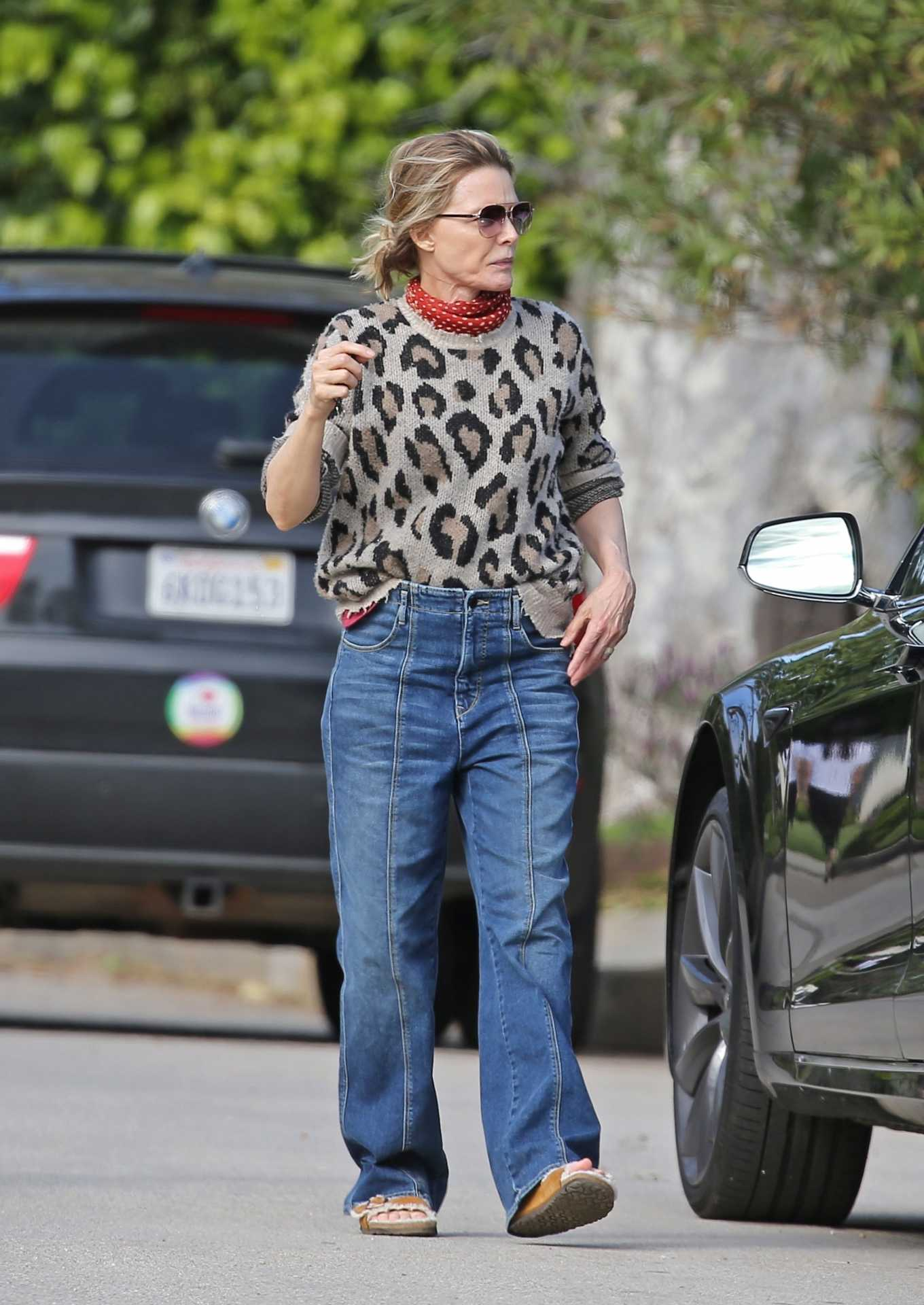 Michelle Pfeiffer Out in the Pacific Palisades