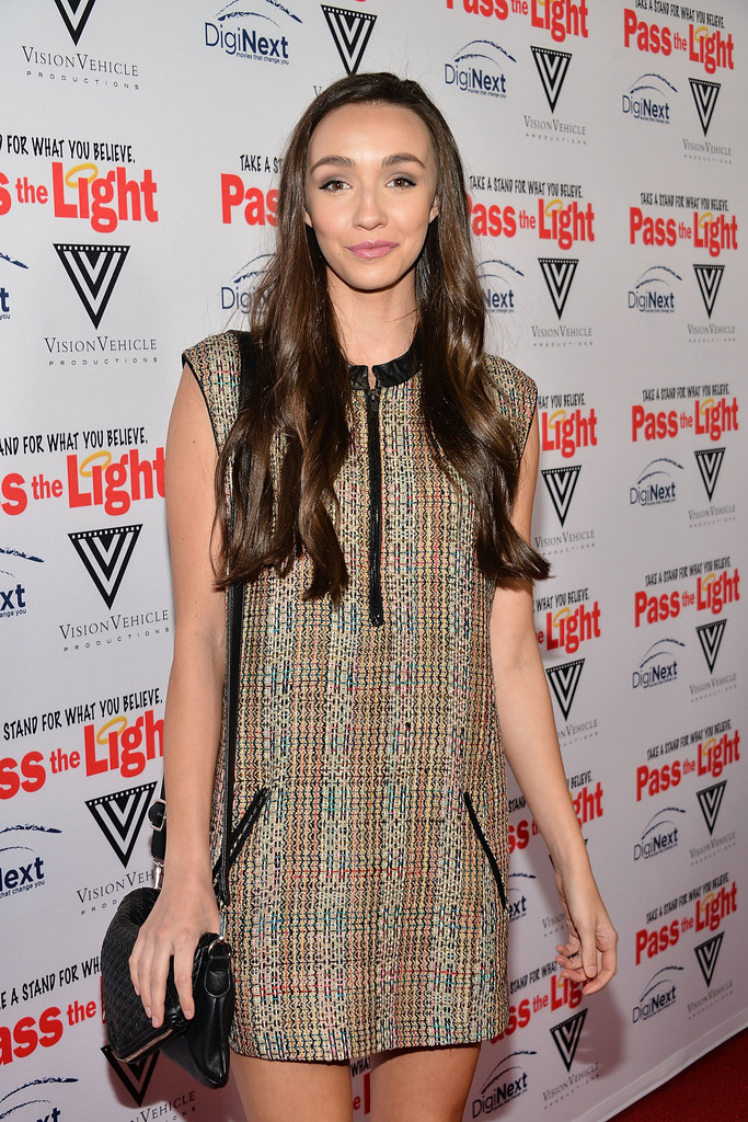 """Rachel Kathryn Bell – """"Pass The Light"""" Premiere in Hollywood"""