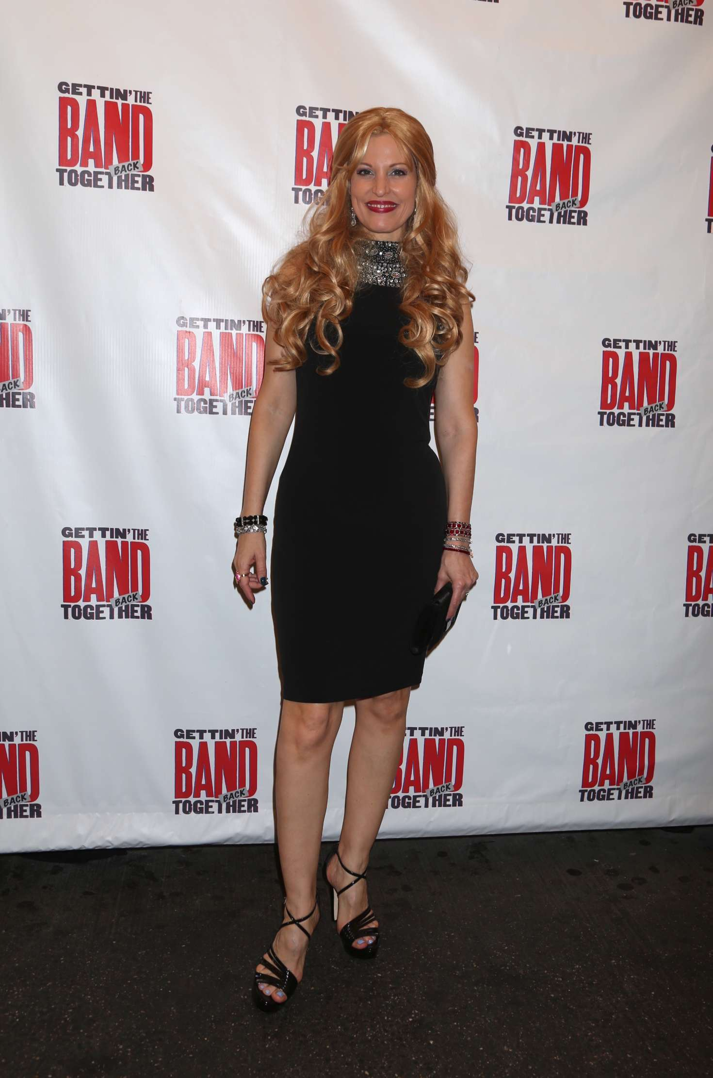 Rachel York – Gettin' The Band Back Together Opening Night On Broadway In NY_01
