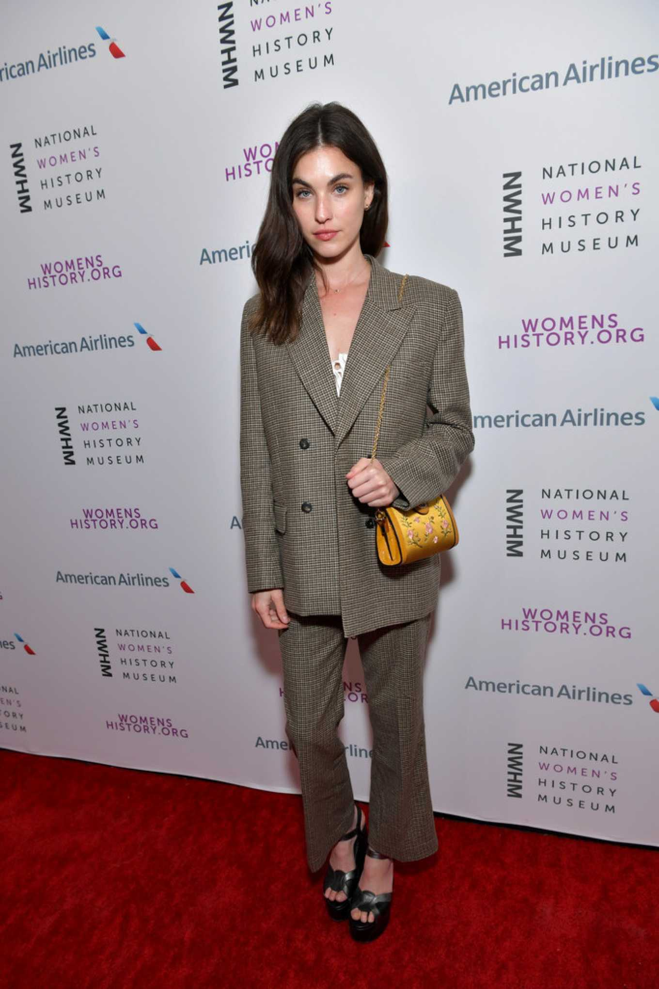 Rainey Qualley – National Women's History Museum's Women Making History Awards in LA_02