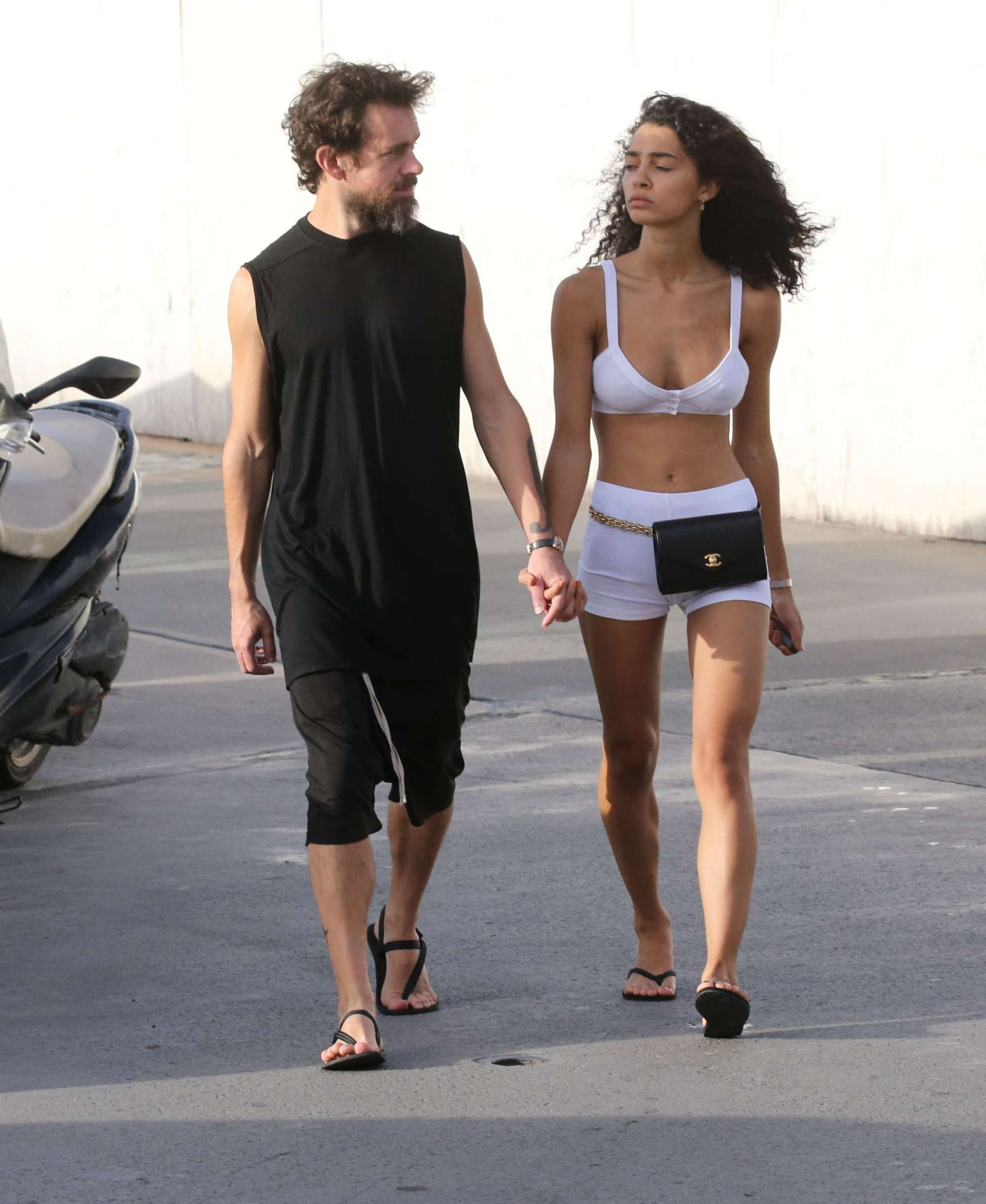 Raven Lyn Cornell And Jack Dorsey – Shopping In St Barth