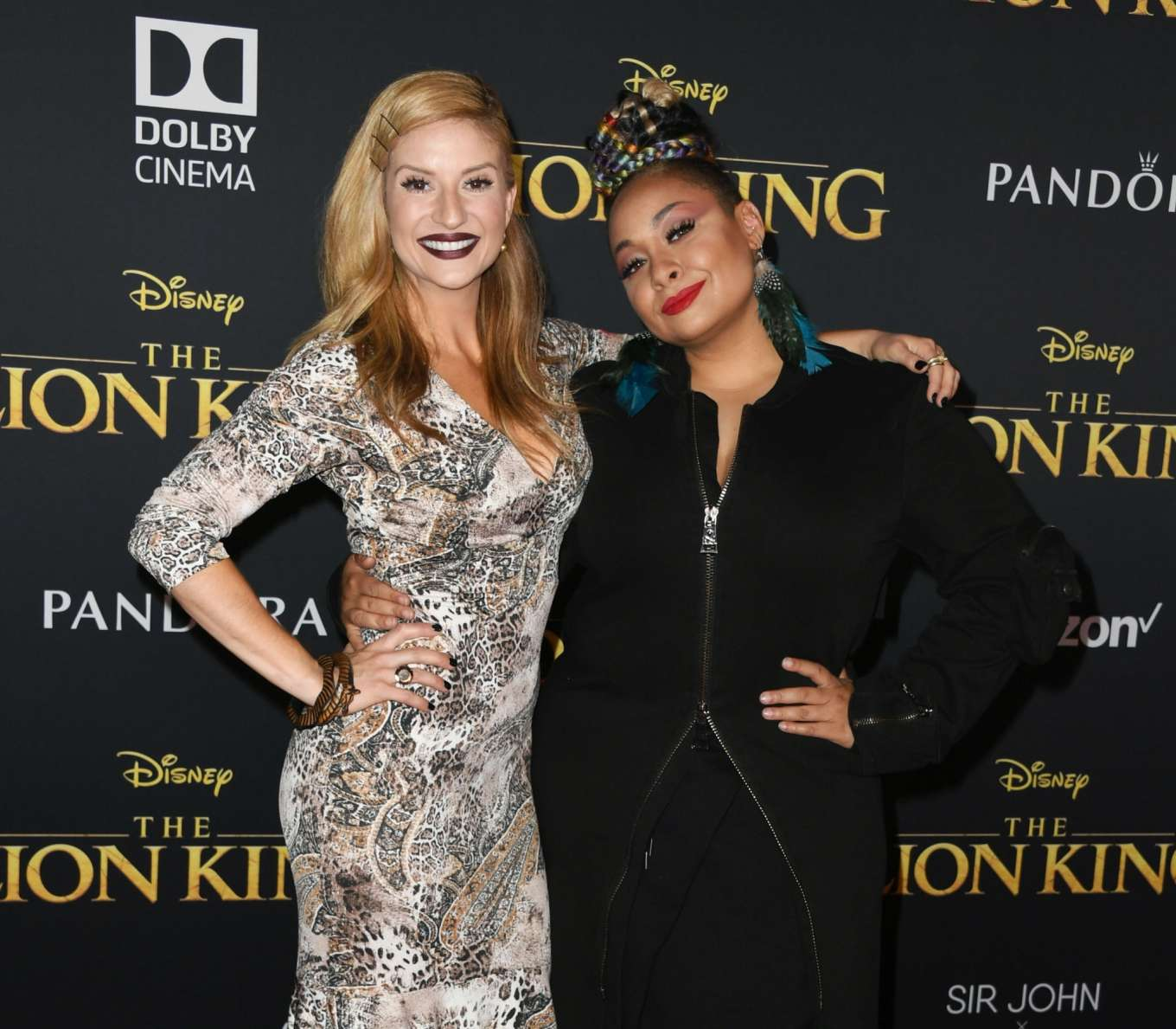 Raven Symone – 'The Lion King' Premiere In Hollywood_01