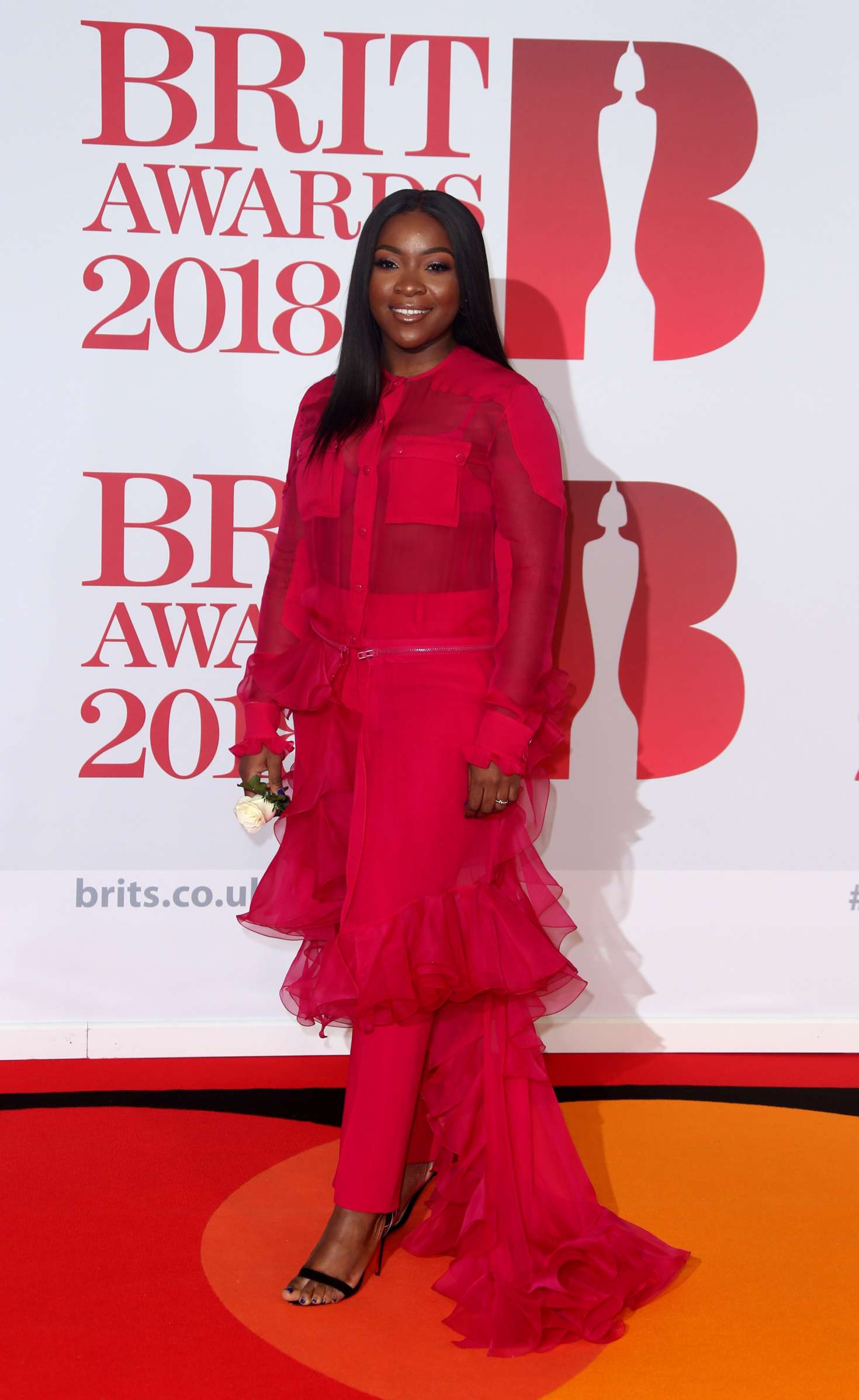 Ray BLK – 2018 Brit Awards In London