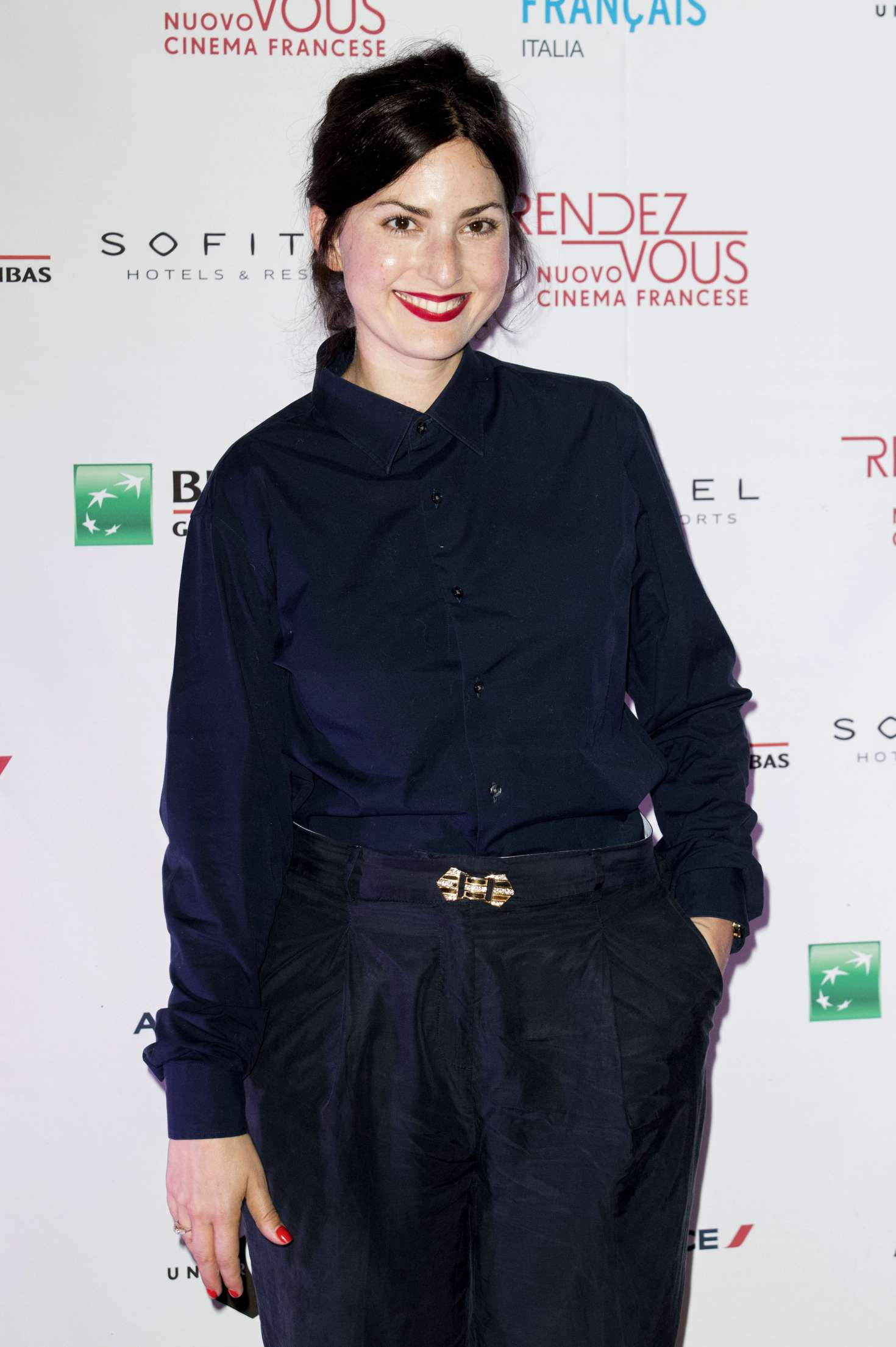 Rebecca Zlotowski – Opening Of French Cinema Festival 'Rendez-Vous' In Rome