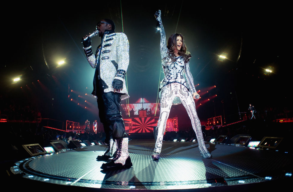 Stacy 'Fergie' Ferguson & BEP's live at the O2 Arena in London 2010-04
