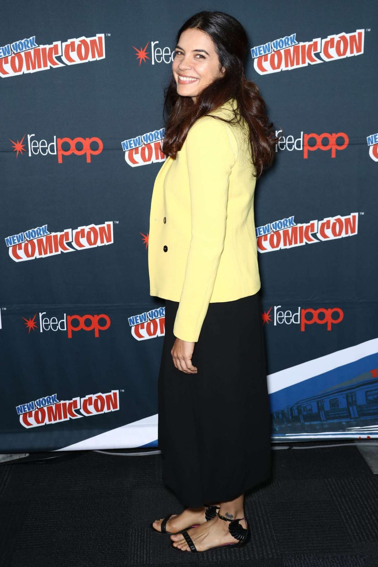 Zuleikha Robinson – 'The Exorcist' Panel at 2017 New York Comic Con-02