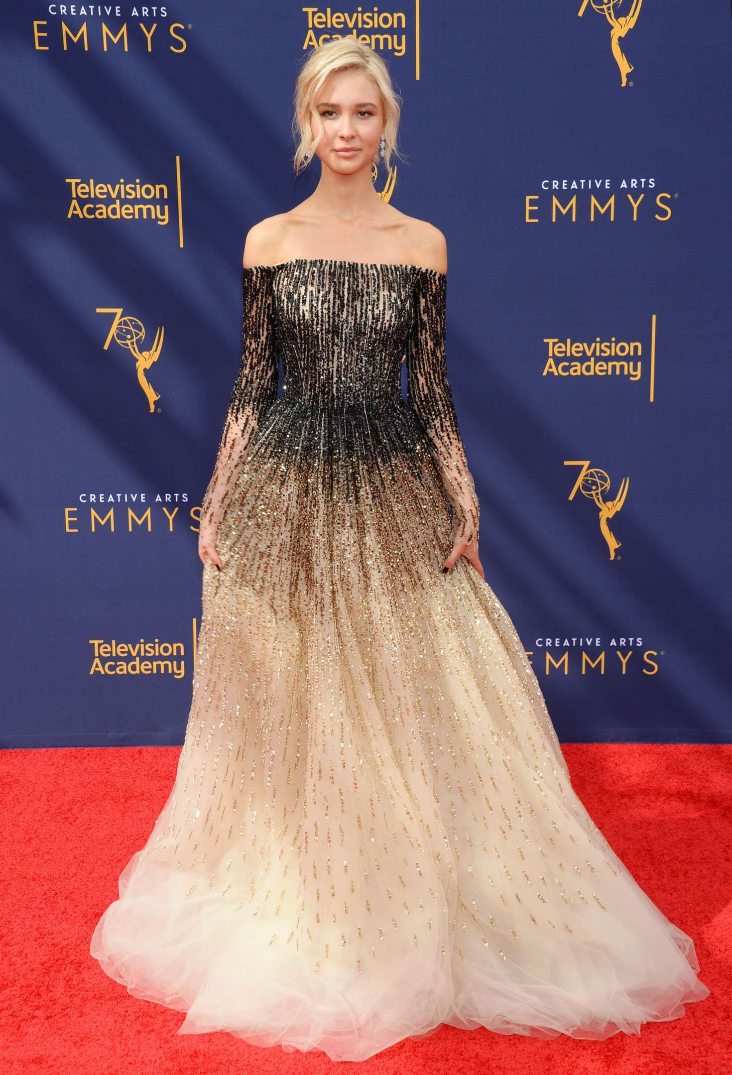 Isabel May – 70th Primetime Creative Arts Emmy Awards in Los Angeles-03