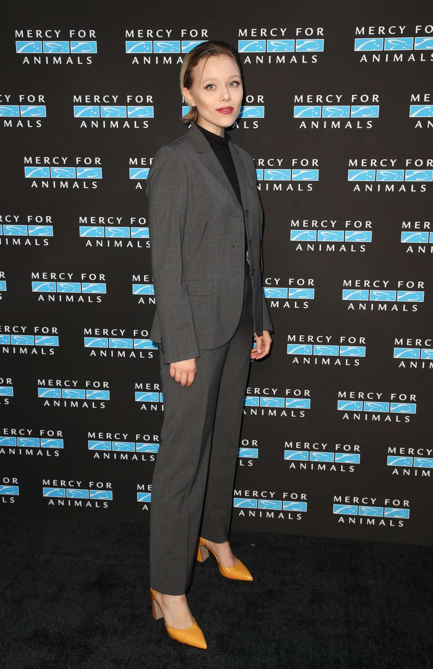 Ivanna Sakhno – 2018 Mercy for Animals Gala in Los Angeles-02
