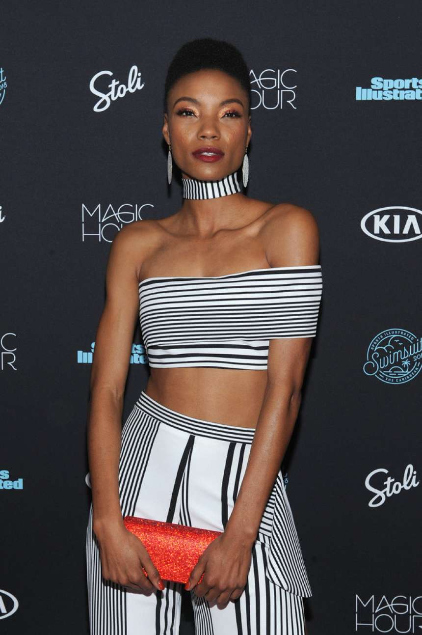 Iyonna Fairbanks – Sports Illustrated Swimsuit 2018 Launch Event in NY-01