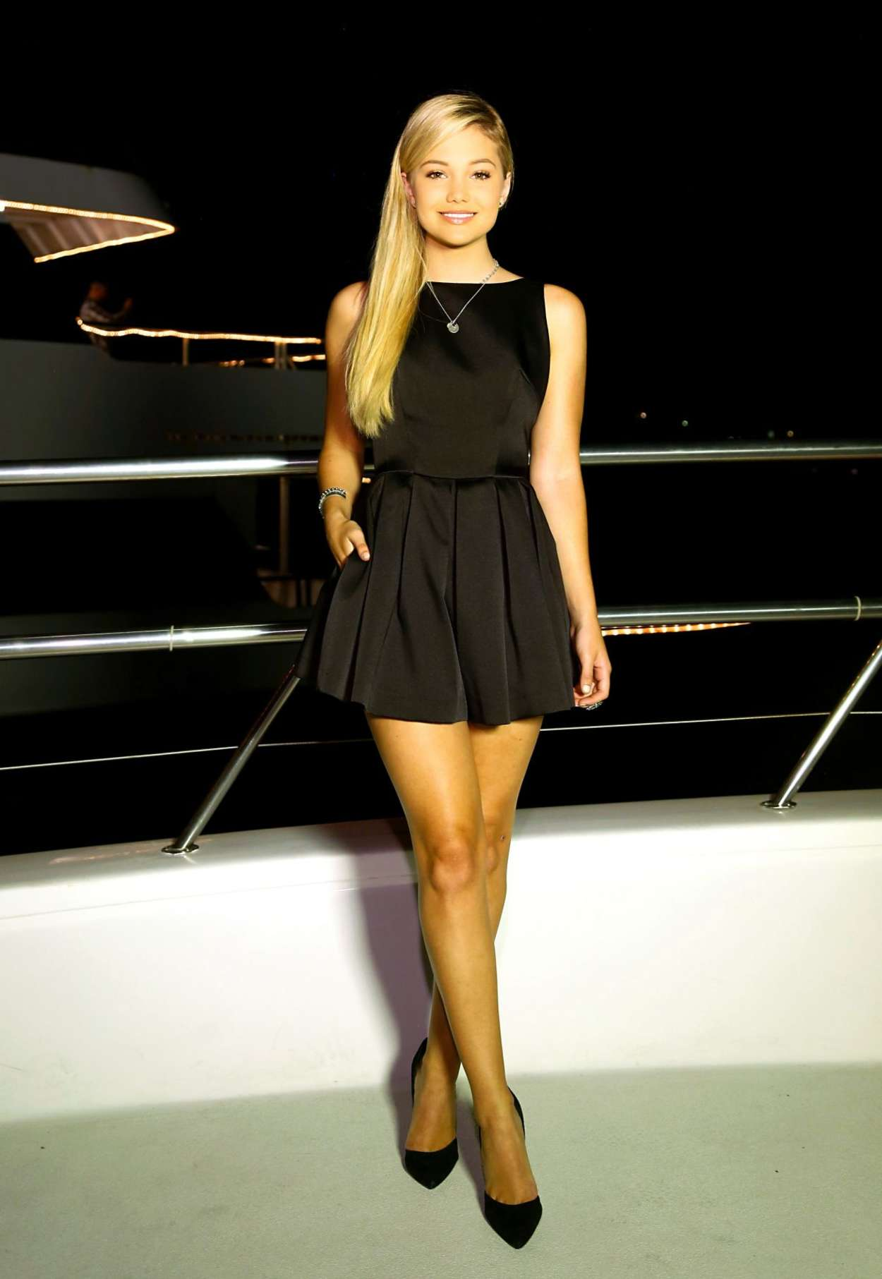 Oliva Holt – Bella Thorne 18th Birthday Party on a Yacht in LA-03
