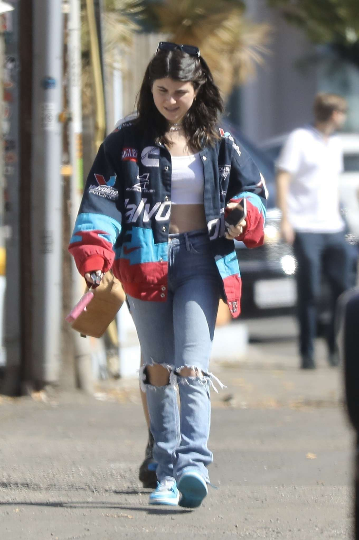Olivia Jade and Isabella Rose Giannulli – Out for brunch in Beverly Hills-04