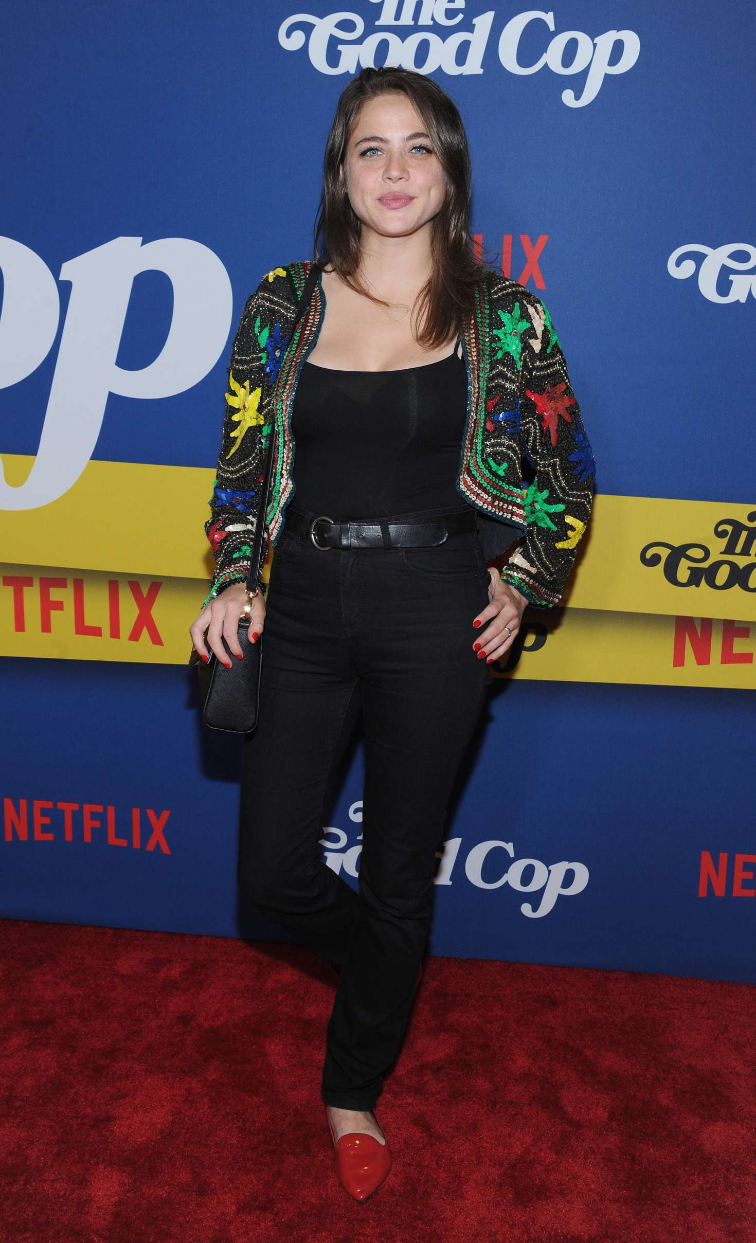 Olivia Luccardi – 'The Good Cop' Premiere in New York-02