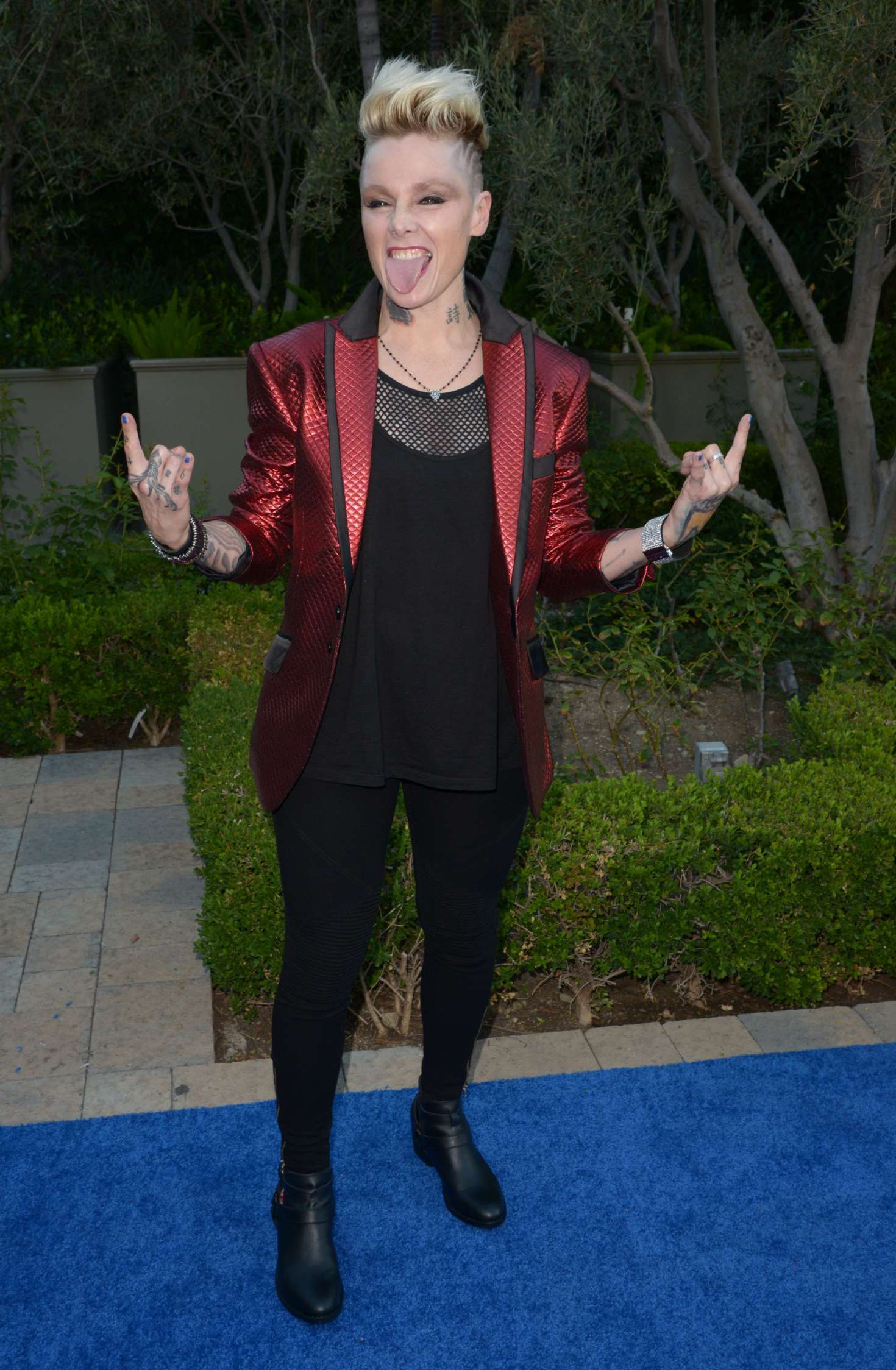 Otep Shamaya – Mercy for Animals hidden Heroes Gala 2016 in Los Angeles-06