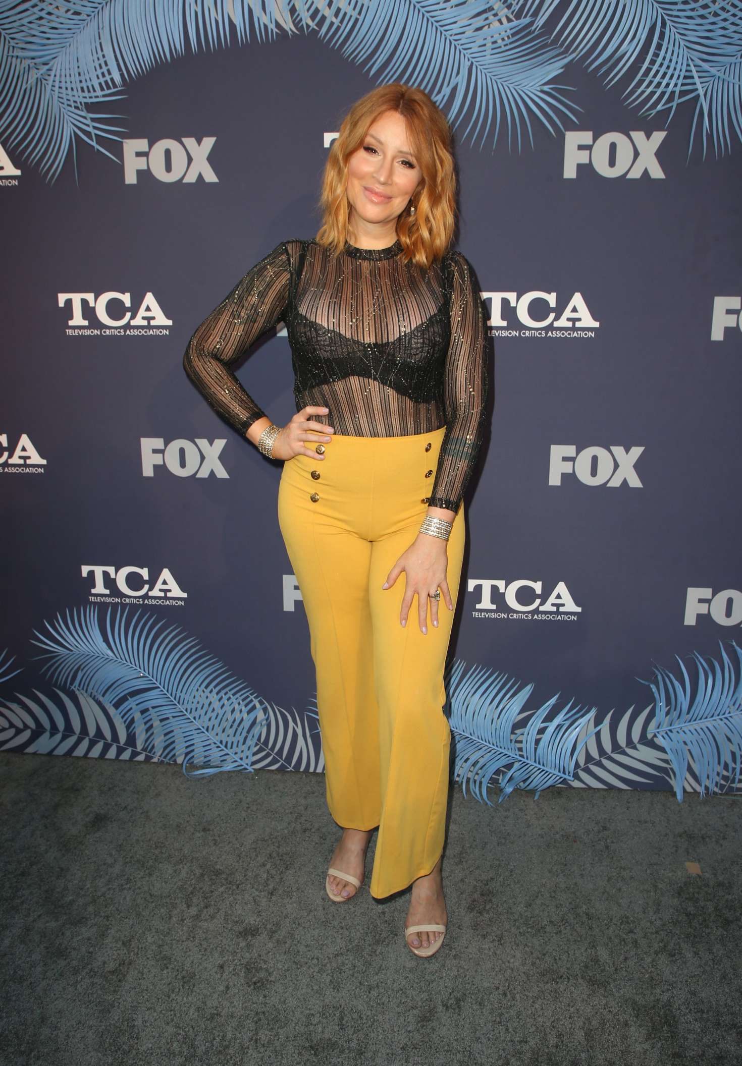 Our Lady J – 2018 FOX Summer TCA 2018 All-Star Party in LA-01
